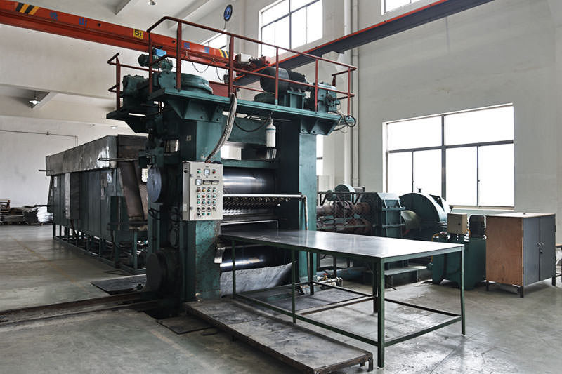 Spot welding production line